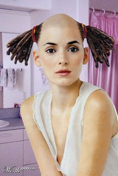 madness hairstyles - girl with crazy #hairstyle