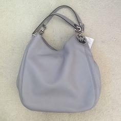 "Michael Kors ""Fulton"" Large | MSRP: $398 ☀️BRAND NEW WITH TAGS☀️ - Michael Kors ""Fulton"" in Gray. MSRP $398 + tax. Bag description above. ❤️ No trades MICHAEL Michael Kors Bags"