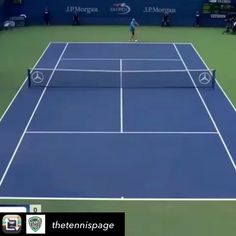 Follow our friends @thetennispage for more videos!  ・・・ Trick Shot Thursday: @tommyrobredo goes behind the back to hit this cheeky winner past Michael Berrer at the 2015 #USOpen!  _  #tennis #trickshot #spanisharmada  #instatennis  #instawow  #tommyrobredo  #tennispro #tennis #tennis #tennis❤️ #tennisvideo #etennisleague #etennisleaguenation #tennispro #tennispoint #tennismatch #tennislove #tennislife #tennisplayer #tennisplayers #tenniscourt