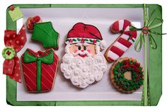 Galletas para adornar el árbol de Navidad