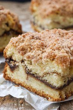 Cinnamon-Streusel Coffeecake Recipe