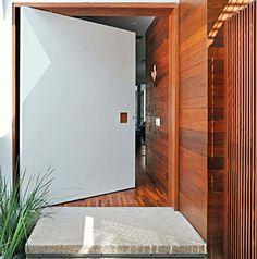 Decor Salteado - Blog de Decoração | Design | Arquitetura | Paisagismo: Portas de Entrada – Veja 15 modelos modernos e maravilhosos!