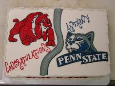 high school to college cakes - Google Search