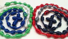 Tri-Color Rosary
