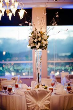 Centerpiece and ambient lighting