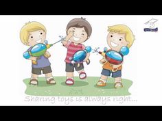"FREE Online Manners & Character Song~  Young children will easily recognize the familiar ""Twinkle, Twinkle, Little Star"" tune as they watch and learn about good manners and character."