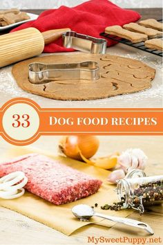 It may not be as hard as you'd think to make homemade dog food. Check out more than 30 recipes for tasty and nutritious dog meals and treats. Because we love our furry friends ♥ They vary from normal adult diets to special diets for overweight and kidney-compromised dogs.