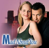 """""""Mad About You"""" ~ Paul Reiser and Helen Hunt in a crazy, funny, romantic comedy of newly-weds we loved!"""