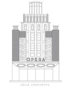 Willis Tower, Behance, Gallery, Building, Travel, Buenos Aires, Saint Nicholas, Monsters, Teatro