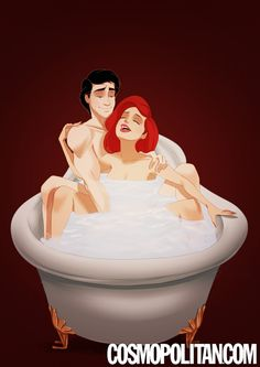 "If Disney Couples Starred in "",Fifty Shades of Grey"","