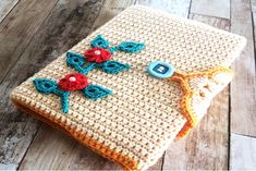 Crochet Beautiful Book Cover