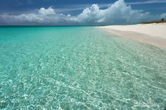 Crystal aquamarine waters of Turks and Caicos Islands. See more at www.ExploringLightPhotography.com