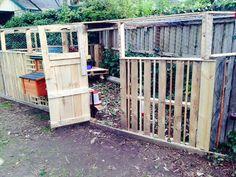 Wood #Pallet Chicken Coop or Hen House! | 101 Pallet Ideas