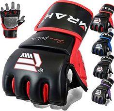 Wolf Tiger Claw Boxing Gloves Fitness Half Finger Mma Karate Kick Thai Equipment