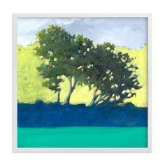 """Morning Grove"" - Art Print by Stephanie Goos Johnson in beautiful frame options and a variety of sizes."
