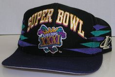 Super Bowl XXXI NFL Vintage 90's Logo Athletics Double Diamond Snapback Hat #LogoAthletics #GreenBayPackers Nfl Fans, Hats For Sale, Green Bay Packers, Snapback Hats, Athletics, Super Bowl, Nike Men, Cap, Diamond