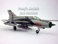 Mikoyan Mig-21 Fishbed Poland 1/100 Scale Diecast Model by Amercom
