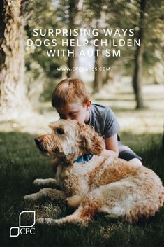 Surprising ways that dogs can help children with autism - CPC Cares
