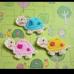 Crochet Trivets - Como tejer punto crochet fantasia en relieve Boho Crochet - How to get sunflowers in too in the.