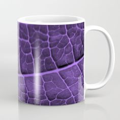 ENJOY 25% OFF EVERYTHING TODAY! Buy LEAF STRUCTURE ULTRAVIOLET no3 Coffee Mug by piaschneider. Worldwide shipping available at Society6.com. Just one of millions of high quality products available. #ultraviolet #violet #decor #mugs #tassen #art #violett #sociecty6 #piaschneider