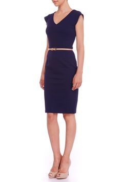 Kirsty Textured Ponte Dress Image