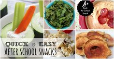 Try one of these fun and frugal after school snacks this year to satisfy your children's appetite when they come home from school.