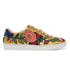 Look We Love: Embroidered Trainers   sheerluxe.com