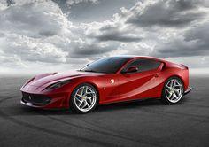 V型12気筒エンジンフェラーリのフラッグシップモデル、「フェラーリ812スーパーファスト」がジュネーブモーターショーで公開される。これはF12ベルリネッタの後継モデルであり、フロントに800馬力を発生するV12エンジンを搭載するFRレイアウトを採用する。