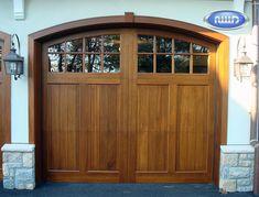 Heritage Classic Model C108C Meranti Garage Door