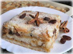 VRSTVENÝ JABLKOVÝ KOLÁČ :: Tipy na Výlety a zábava Czech Recipes, French Toast, Food And Drink, Sweets, Breakfast, Desserts, Morning Coffee, Tailgate Desserts, Deserts