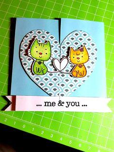 True Love ❤  #matiteacquerellabili #stabilo #cardmaking #papercrafts #faidate #homemade #nobigshot #handmadecards