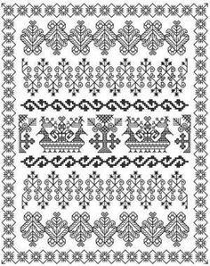 Blackwork Embroidery: Practical Blackwork