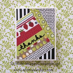 Aromas and Art - Page 7 of 299 - Su Mohr, Independent Stampin' Up! Demonstrator, and Independent Young Living Distributor Young Living Distributor, Tutti Frutti, Art Pages, Thinking Of You, Stampin Up, Challenges, Quilts, Paper Scraps, Pattern