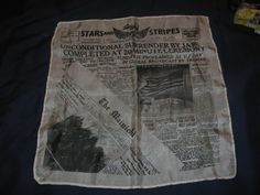 War Memorabilia Historical Silk scarf