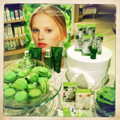 beauty macarons green madara cosmetics