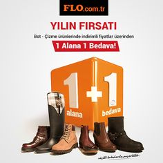 Flo.com.tr'ye özel, seçili bot ve çizme ürünlerinde 1 alana 1 bedava kampanyası başladı, kaçırmayın! #AW1516 #newseason #kış #winter #yenisezon #fashion #fashionable #style #stylish #flo #floayakkabi #shoe #ayakkabı #shop #shopping #women #womenfashion #trend #moda #ayakkabıaşkı #shoeoftheday #kampanya #fırsat #bot #cizme