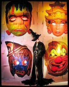 Halloween windows display at 5th at 58th/Bergdorf Goodman...
