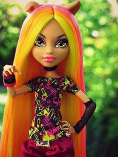 Monster high lo mas Terrorifico | via Facebook on We Heart It
