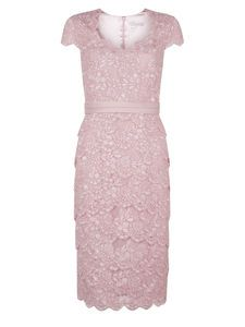 LACE TIERED DRESS