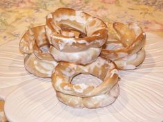 Egg Taralli..light, crispy & sweet..A very old tradition to make at Easter time!