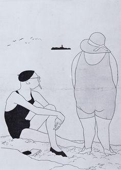 Simplicissimus art by Olaf Gulbransson