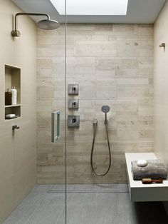 Browse through bathrooms with steam showers, body jets and more.