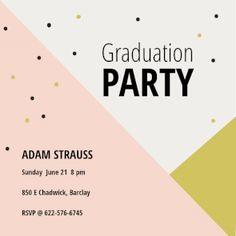 121 Best Graduation Party Invitation Templates Images Grad Parties