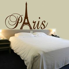 FREE SHIPPING Paris Tour Eiffel Tower Wall Decal By DecalChic, $5.50 And  Up. From