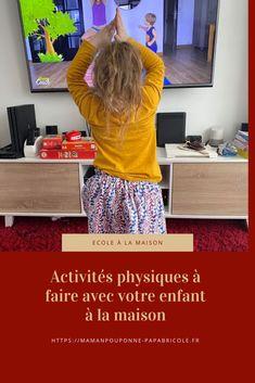 Activités physiques à faire avec votre enfant à la maison