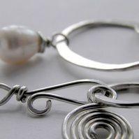 Pearl Bracelet Sterling Silver