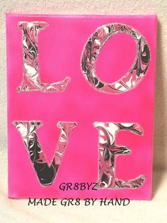 LOVE wall hanging by gr8byz
