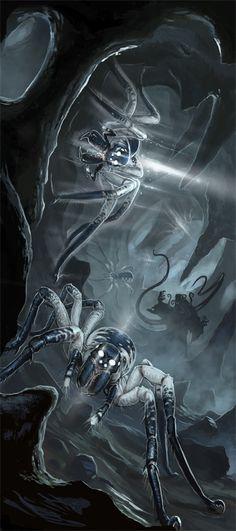Phase Spider Attack by BenWootten.deviantart.com on @deviantART