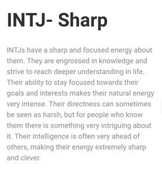 I wonder if that's why I feel so lost now. I am no longer driven towards my goals. I'm an INTJ without a purpose :(