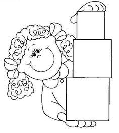 figuras geometricas para colorear cuadrados